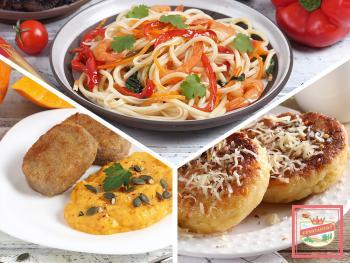 Рецепты вкусных блюд на каждый день — рабочая неделя с продуктами ЕРМОЛИНО