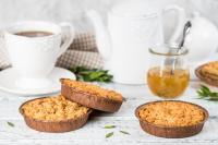 Печенье сдобное «Корзинка» с лимонной начинкой