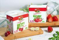НОВИНКА! Йогурты фруктовые с вишней и клубникой в упаковке весом 500 г!
