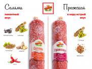 В чем различие колбас «Пражская» и «Салями Классическая»