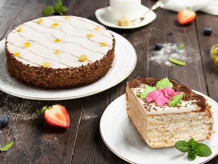 Сразу два новых торта ТМ «ЕРМОЛИНО»!