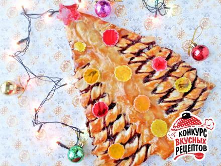 Вкусная и нарядная Елочка к Новому году